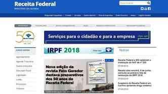 (foto: Receita.fazenda.gov.br/Reprodução)