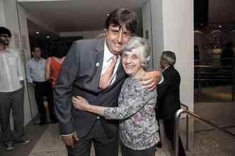 Alexandre Poni com a mãe, Edi Brugnara Poni: espírito empreendedor no sangue(foto: Verdemar/Divulgação)