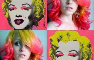 Brincando com a pop art de Andy Warhol
